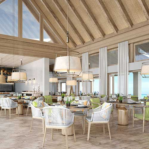 Waldorf Astoria Maldives – all day dining